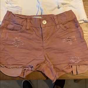 Girl shorts size 6x/7 from children's place